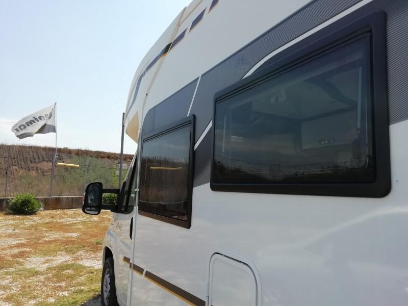 le finestre seitz dei camper benimar